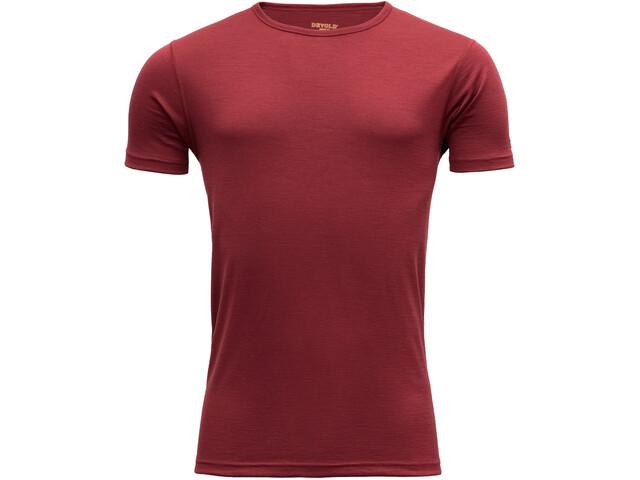 Devold Breeze T-Shirt Homme, syrah